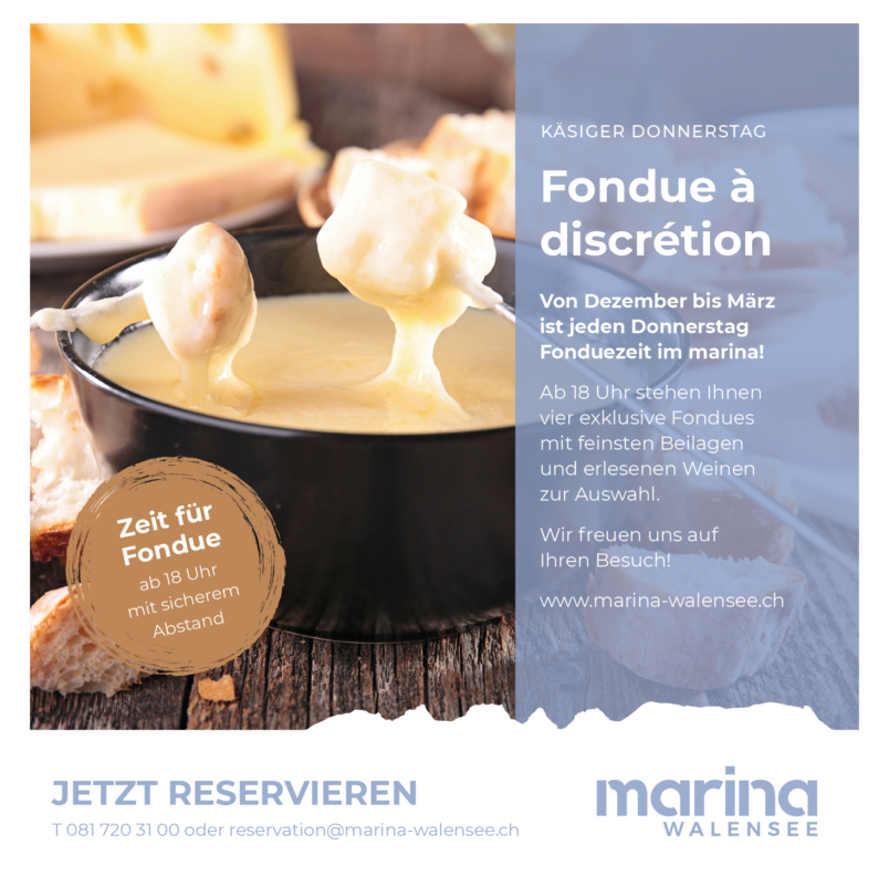 Unlimited cheese fondue