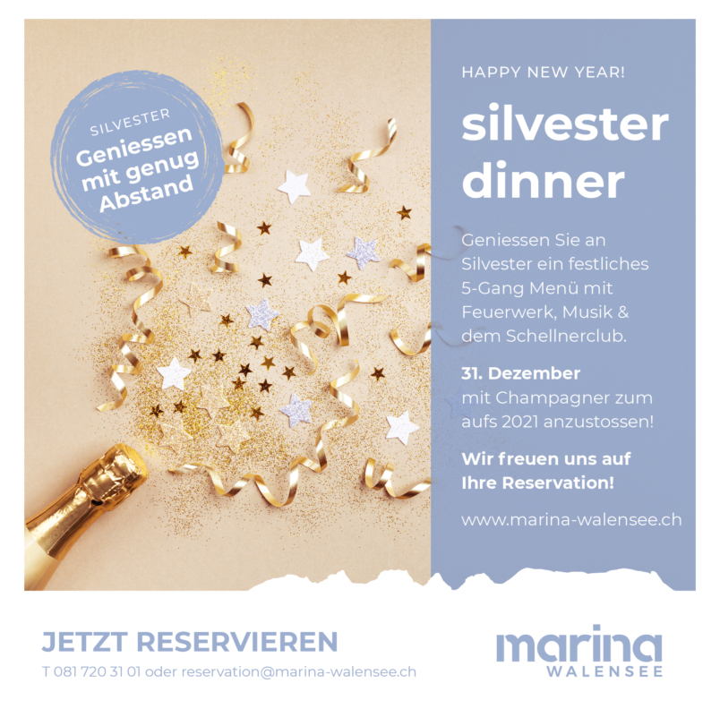 New Year in Marina Walensee